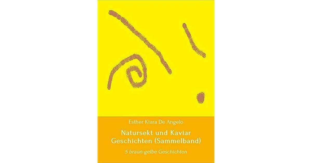 Natursekt und Kaviar - Sammlung: 5 braun-gelbe