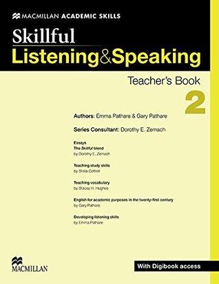 Skillful Listening and Speaking Teacher's Book + Digibook + Audio CD Level 2 (Skillful Level 2)