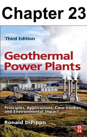 Chapter 023, Environmental Impact of Geothermal Power Plants
