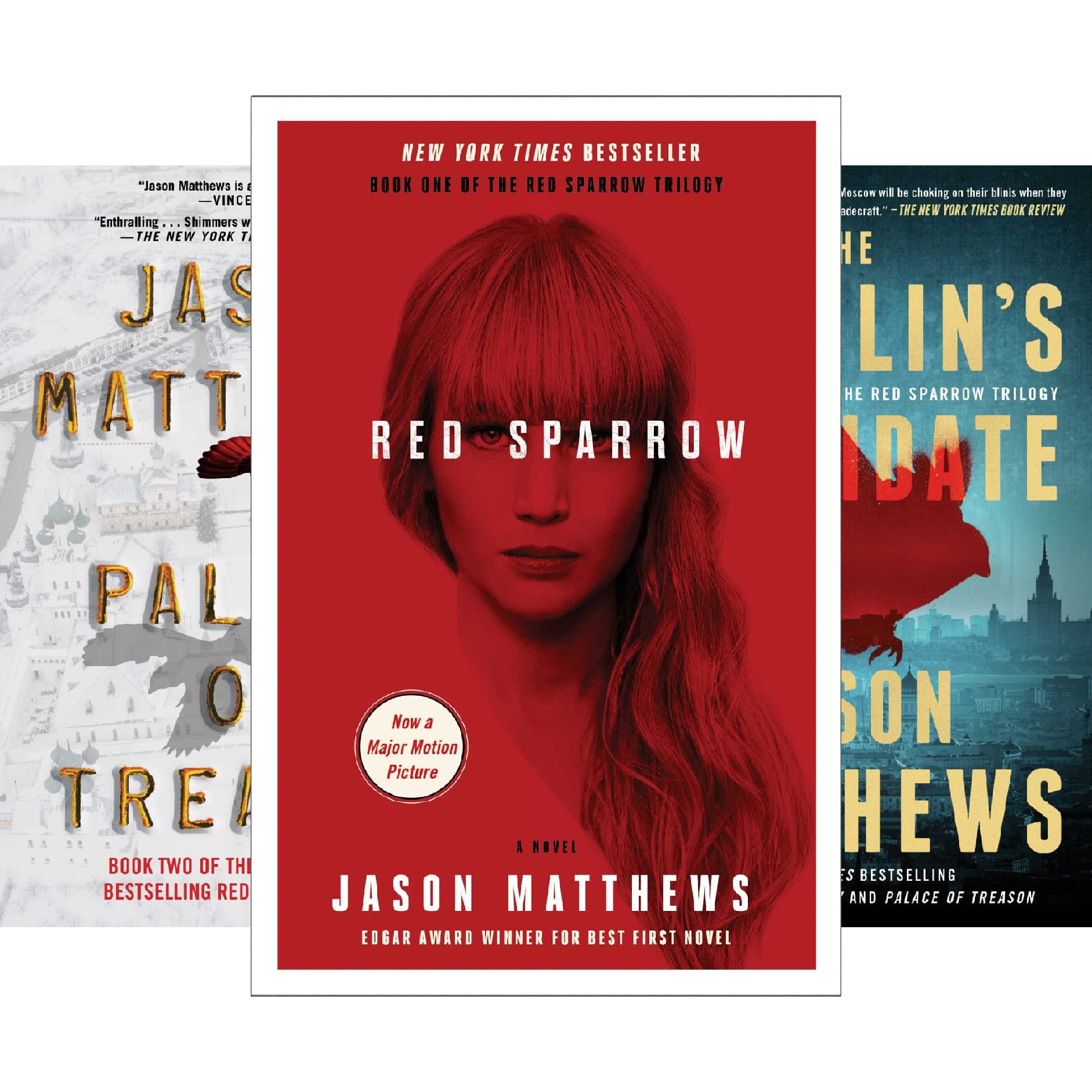 The Red Sparrow Trilogy (3 Book Series) by NOT A BOOK