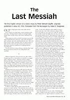 The Last Messiah