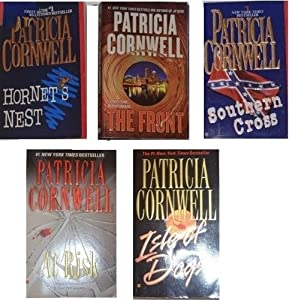 Patricia Cornwell Andy Brazil/Hammer & Gareno Series (5 Book Set) : Hornet's Nest, Southern Cross, Isle of Dogs, At Risk, The Front