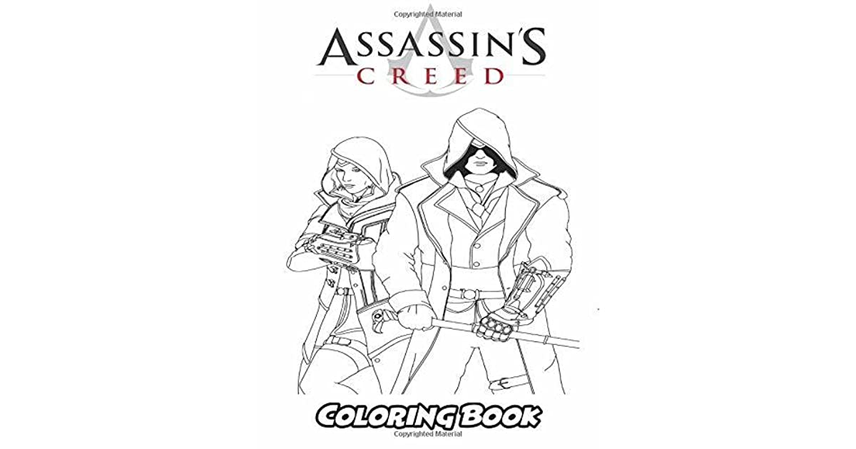 Assasin S Creed Coloring Book Coloring Book For Kids And