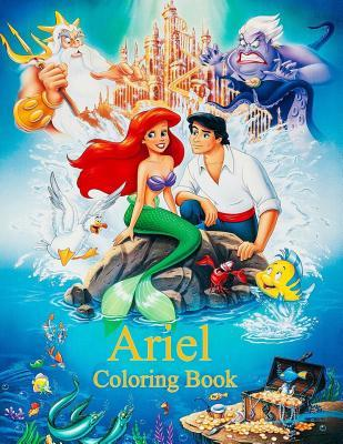 Ariel Coloring Book Coloring Book For Kids And Adults With Fun Easy And Relaxing Coloring Pages By Linda Johnson