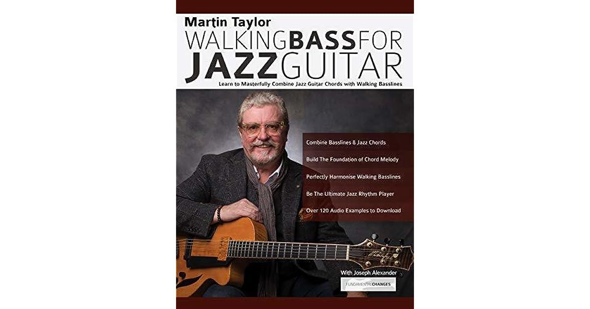 Martin Taylor Walking Bass For Jazz Guitar Audio