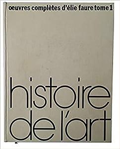 Histoire de L' Art - tome un