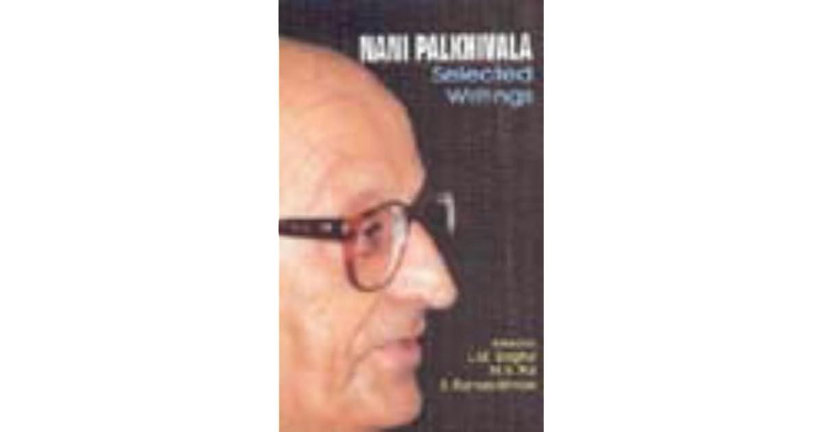 We The Nation Nani Palkhivala Pdf