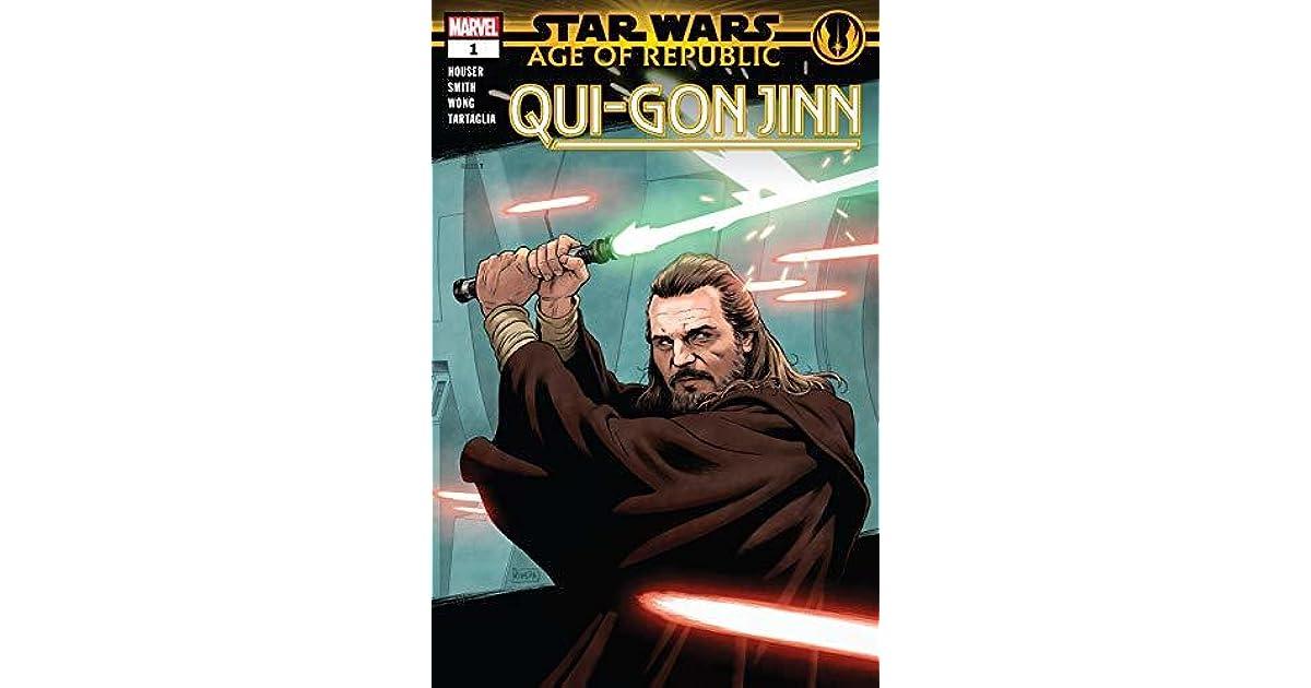 Star Wars Age Of The Republic Qui Gon Jin By Jody Houser