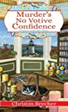 Murder's No Votive Confidence (Nantucket Candle Maker Mystery #1)