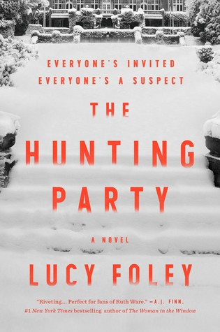 "Book cover of ""The Hunting Party"" by Lucy Foley"