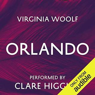 Audioook cover for Orlando by Virginia Woolf