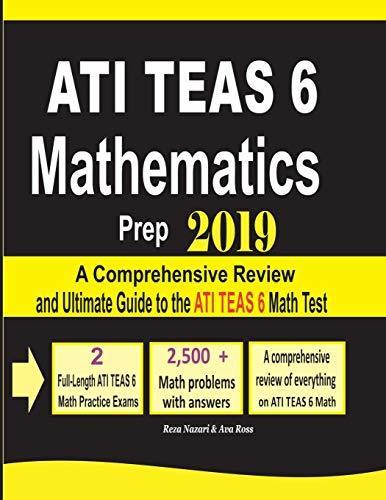 ATI TEAS 6 Mathematics Prep 2019 - Reza Nazari UserUpload