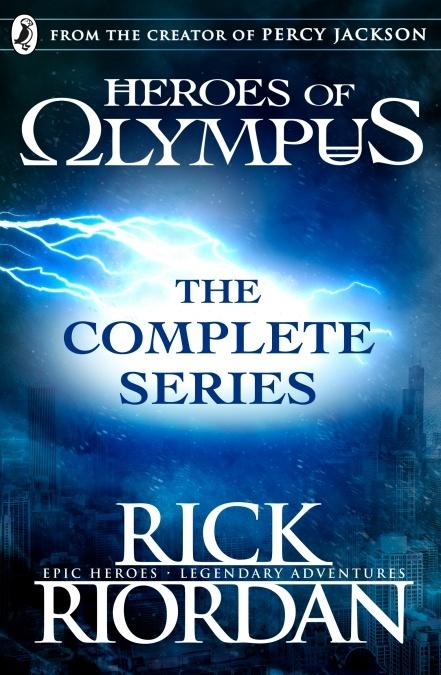 Heroes of Olympus: The Complete Series