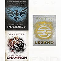 Legend Series Marie Lu Collection 3 Books Bundle (Legend,Champion,Prodigy)