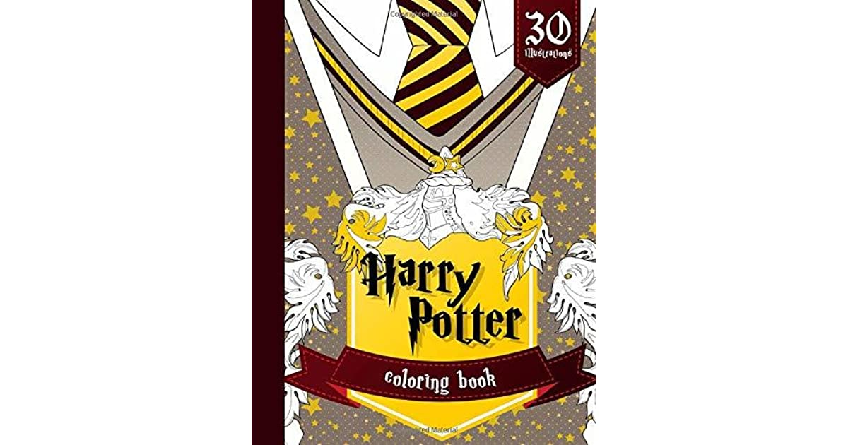 Color All Your Favorite Harry Potter Scenes Harry Potter Coloring Book