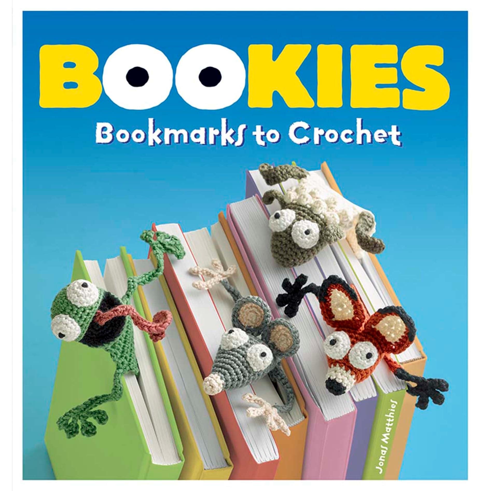 Bookies Bookmarks To Crochet By Jonas Matthies