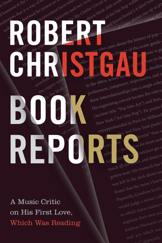 Book Reports: A Music Critic on His First Love, Which Was Reading