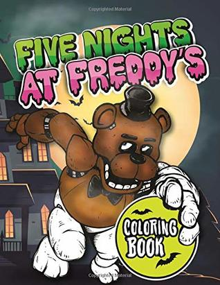Five Nights At Freddys All Characters Coloring Pages Printable | 411x318