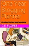 One Year Blogging Planner: International Event and Special Occasion List