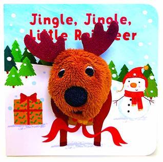 Jingle, Jingle, Little Reindeer Finger Puppet Book
