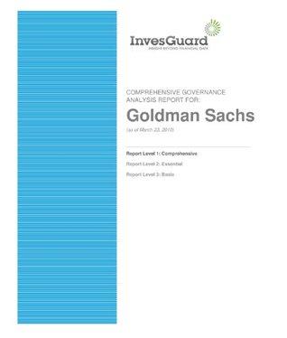 Goldman Sachs - Comprehensive Corporate Governance Report