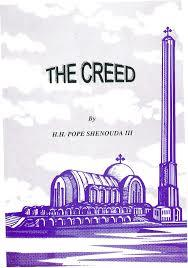 The creed by H.H. Pope Shenouda III