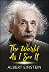 Book cover for The World as I See It