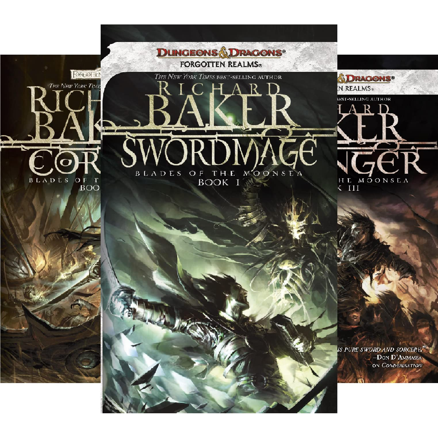 Forgotten Realms: Blades of the Moonsea Series by Richard Baker