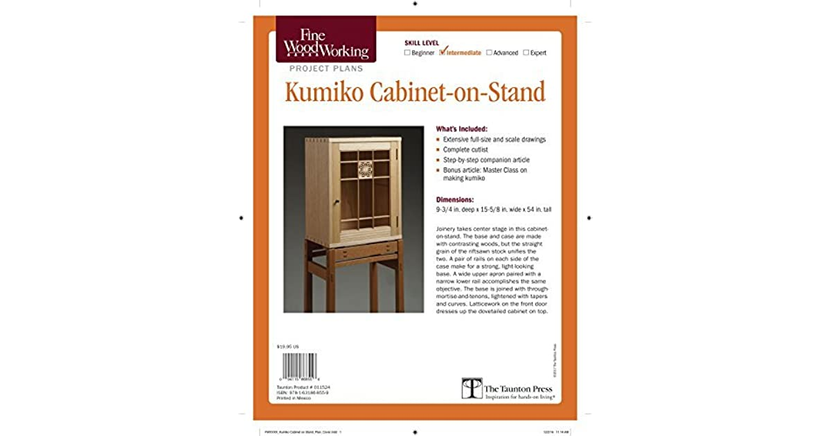 Fine Woodworking S Kumiko Cabinet On Stand Plan By Michael Pekovich
