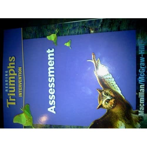Reading Triumphs Intervention Assessment By Macmillan