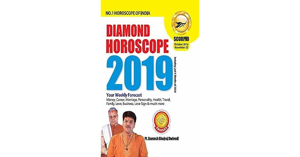 DIAMOND HOROSCOPE SCORPIO 2019 by Dr  Bhojraj Dwivedi & Pt