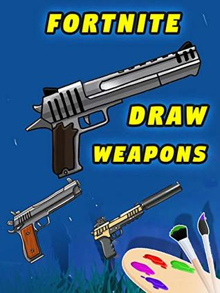 How To Draw Fortnite Weapons Dual Pistols Hand Cannon