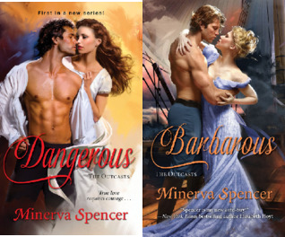The Outcasts (2 Book Series) by Minerva Spencer