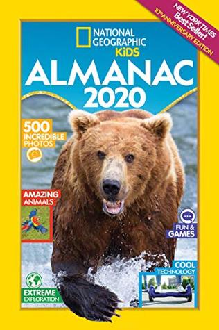 Nytimes Best Books 2020.National Geographic Kids Almanac 2020 By National Geographic