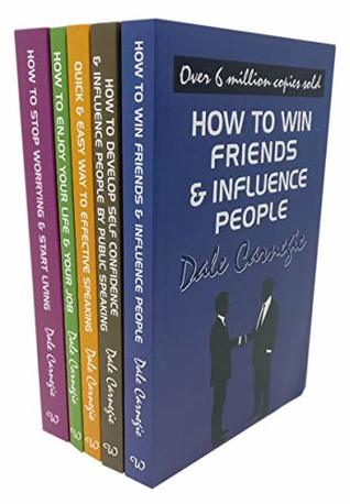 Dale Carnegie Personal Development 5 Books Collection Set (How to Develop Self-confidence and Influence People by Public Speaking, How To Stop Worrying And Start Living, How To Enjoy Your Life And Job, The Quick And Easy Way To Effective Speaking)