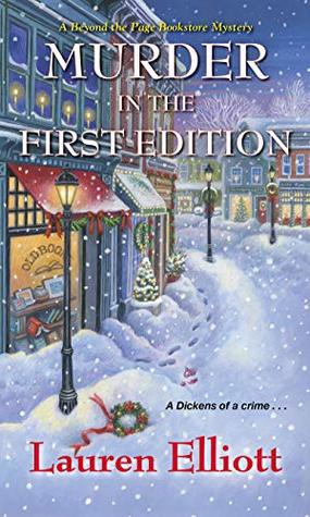 Murder in the First Edition by Lauren  Elliott