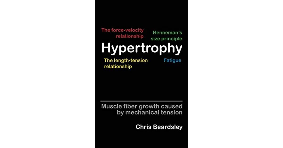 Hypertrophy: Muscle fiber growth caused by mechanical