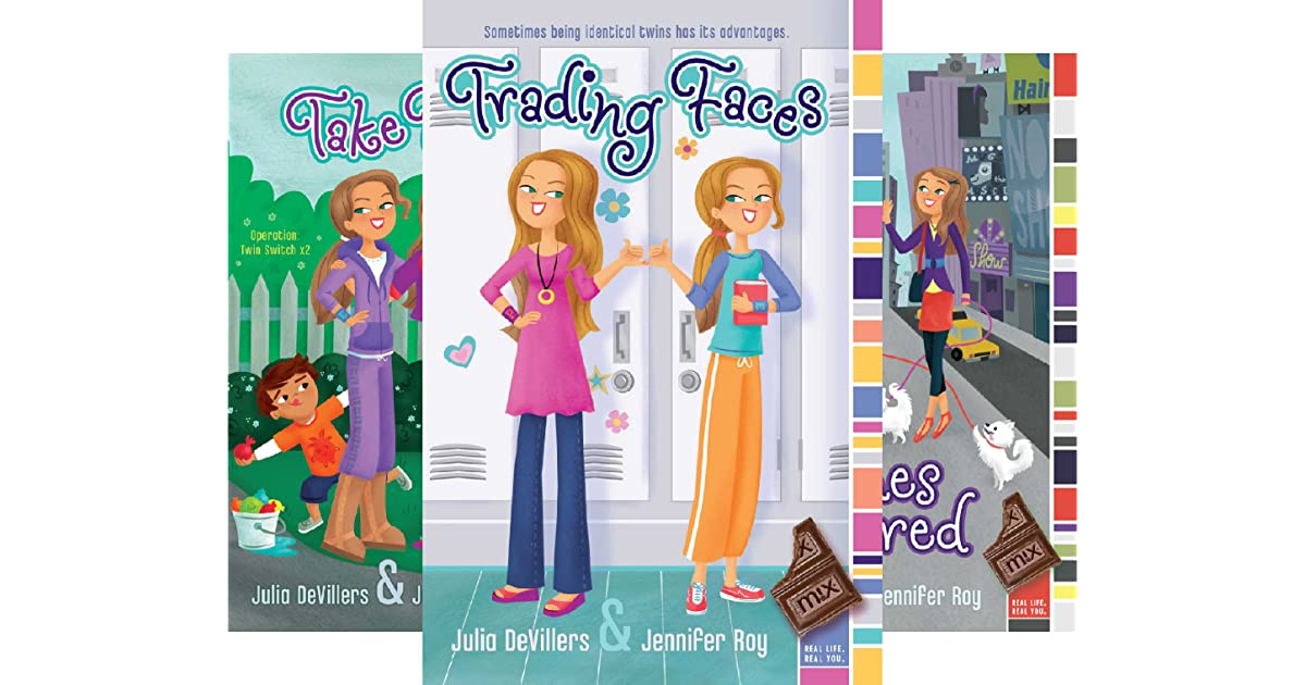 Trading Faces 5 Book Series By Julia Devillers