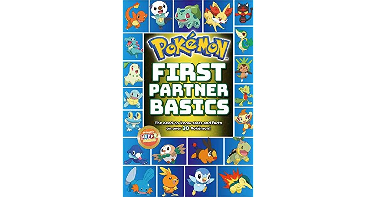 Pokemon First Partner Basics By Scholastic Inc