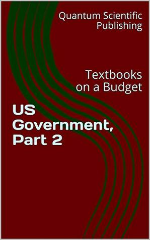 Textbooks on a Budget: US Government, Part 2