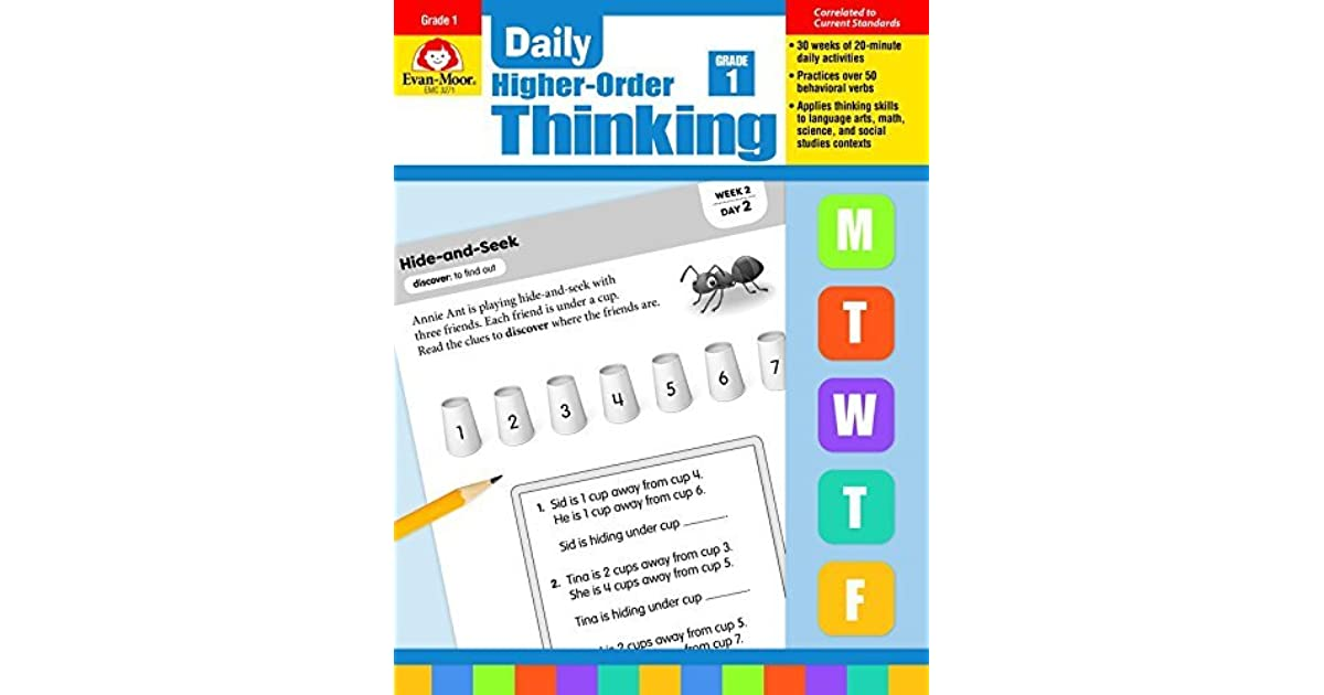 Daily Higher-Order Thinking, Grade 1 by Evan-Moor