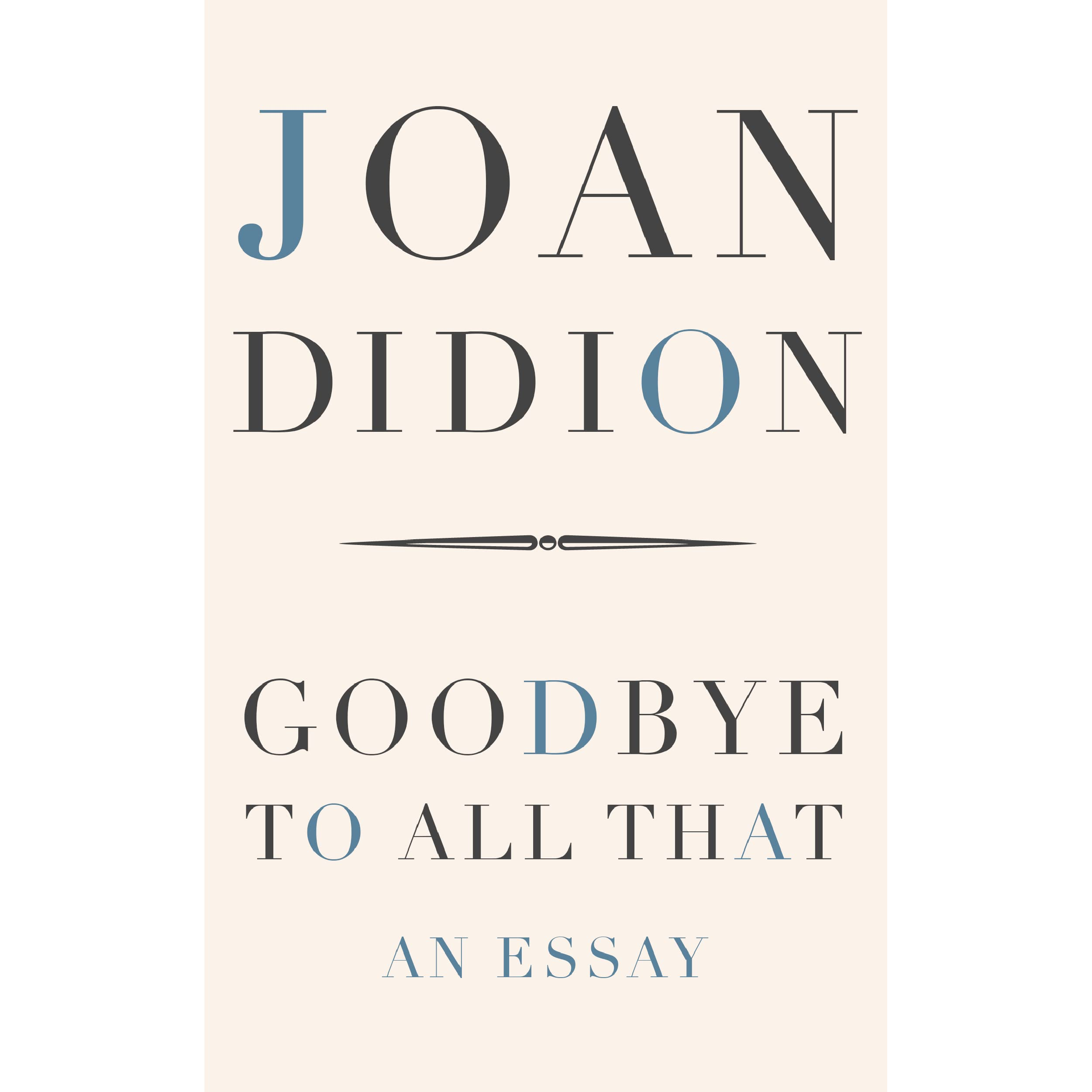 on morality joan didion summary