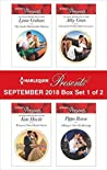 Harlequin Presents September 2018 - Box Set 1 of 2: The Greek's Blackmailed Mistress / Princess's Nine-Month Secret / Claiming His Wedding Night / A Ring to Take His Revenge
