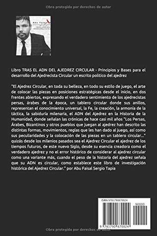 TRAS EL ADN DEL AJEDREZ CIRCULAR (Spanish Edition)