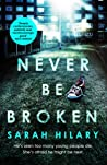 Never Be Broken (DI Marnie Rome, #6)