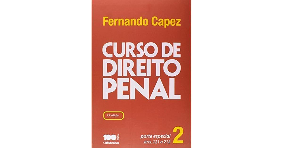 BAIXAR FERNANDO CAPEZ LIVRO DIREITO PENAL PARTE ESPECIAL