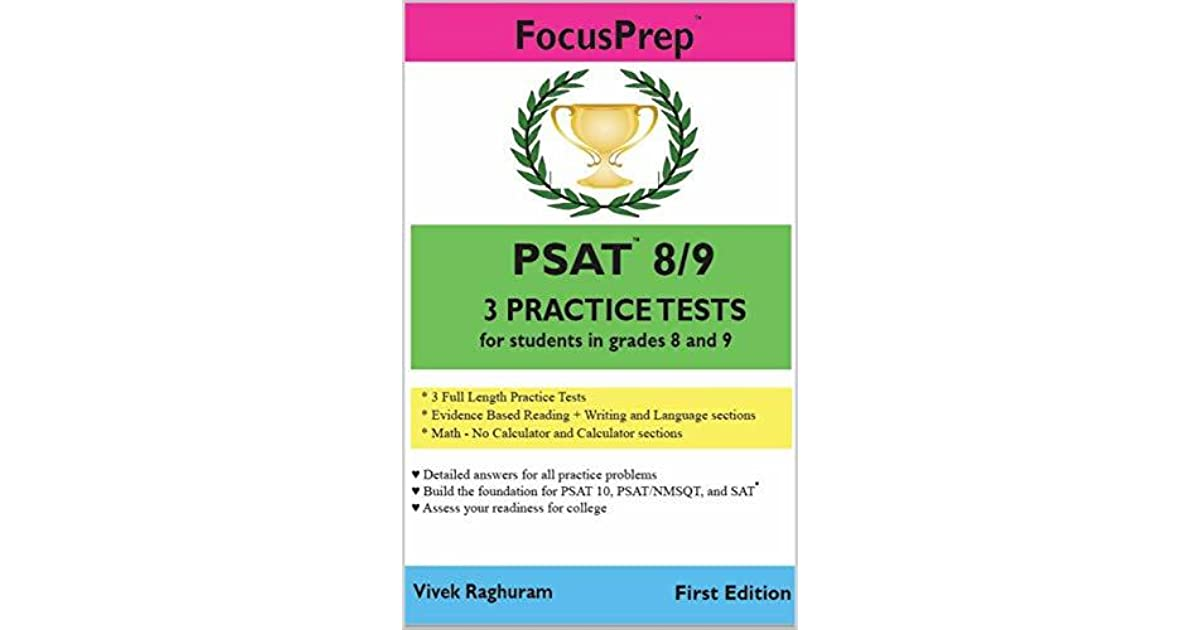 PSAT 8/9 3 Practice Tests: for students in grades 8 and 9 by