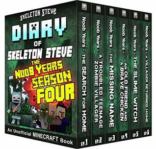 Minecraft Diary of Skeleton Steve the Noob Years - FULL Season Four