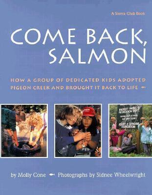 Come Back, Salmon cover art with link to Goodreads page