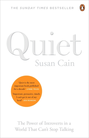 Book cover: Quiet:The Power of Introverts in a World that Can't Stop Talking